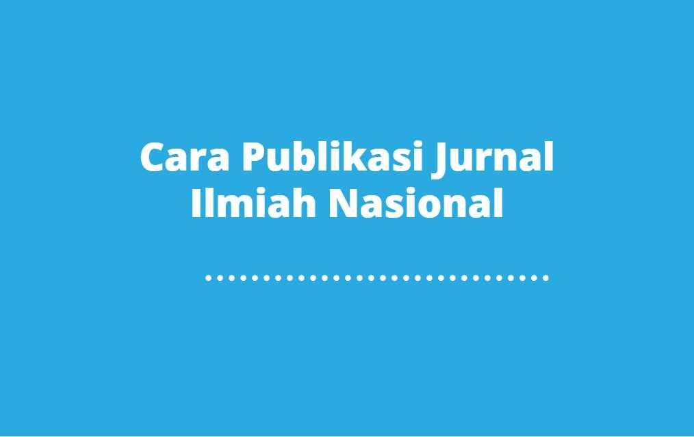 publikasi jurnal
