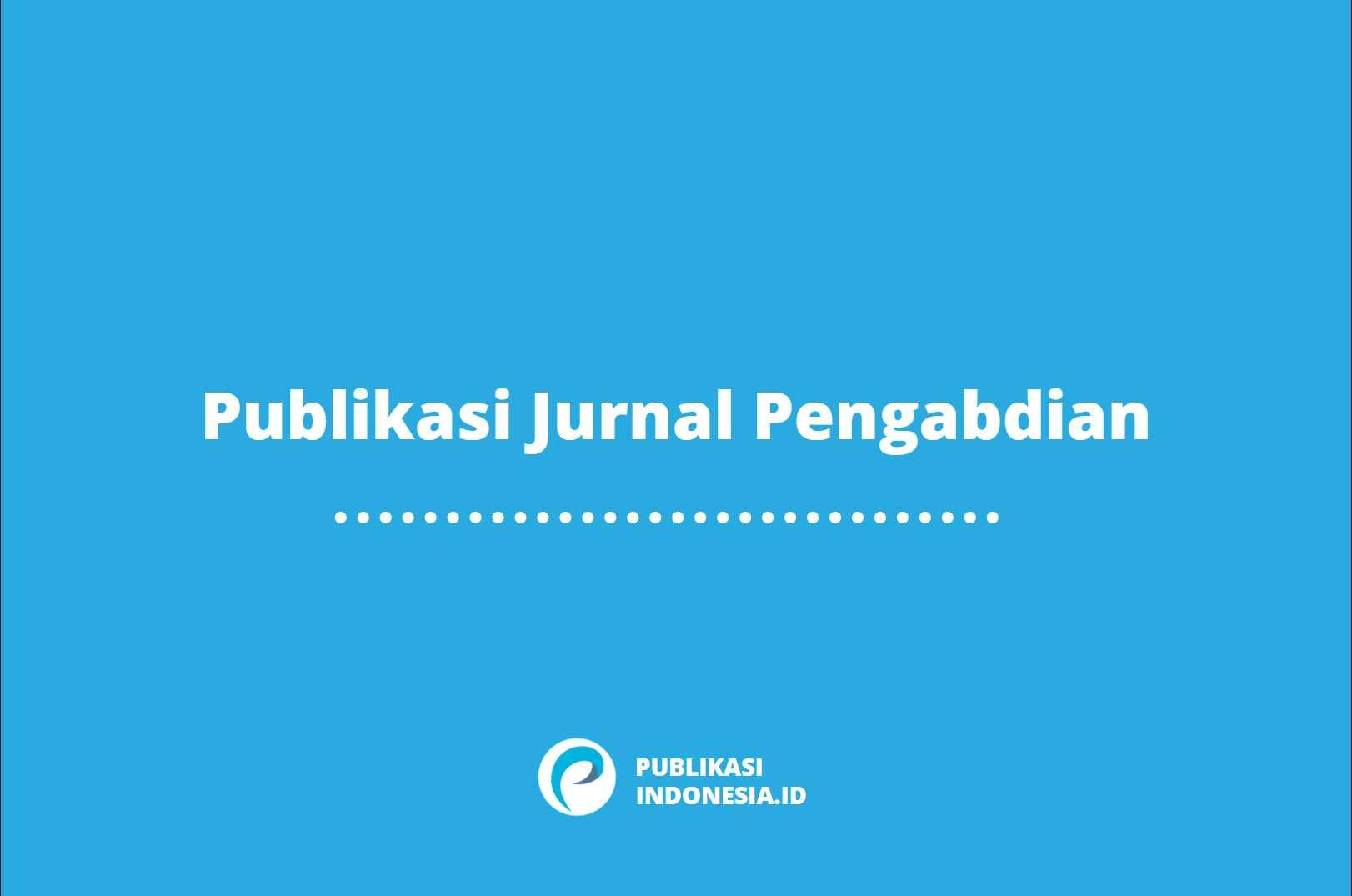 Publikasi Jurnal Pengabdian